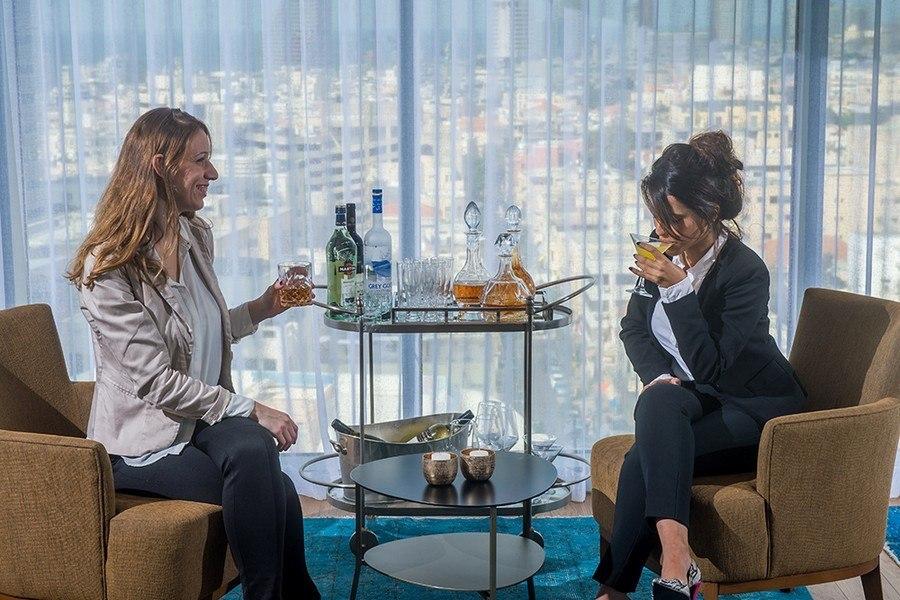 Grand choix de boissons à l'hôtel Rothschild 22