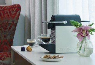 Machine à café Nespresso dans les chambres